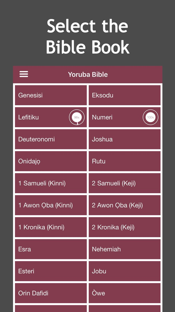 Yoruba iPhone Detailed Page Gallery