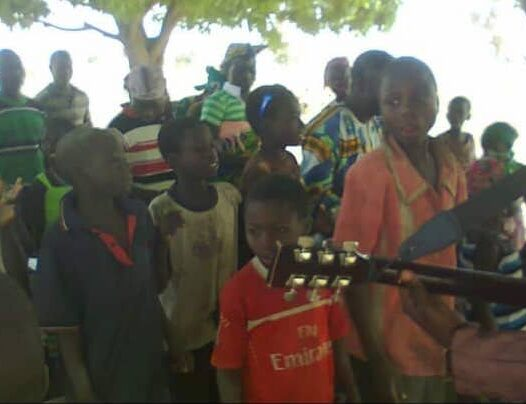 Music ministration after class